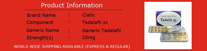 Buy Tadalis Online